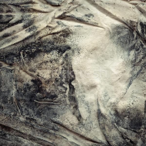Tecido bolor textura velho lona coberto Foto stock © Taigi
