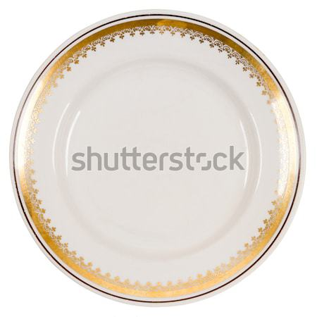 Old plate Stock photo © Taigi