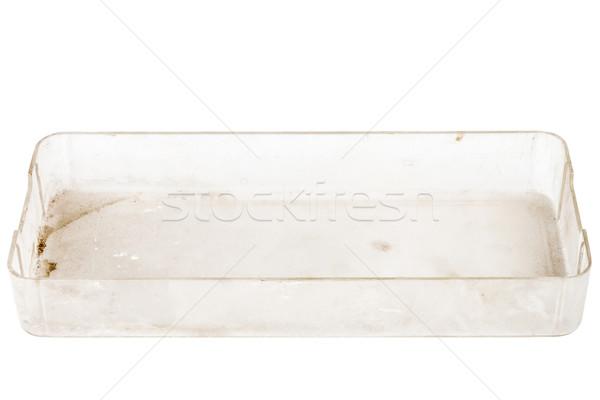Top view of plastic box Stock photo © Taigi