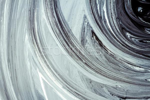 抽象的な アクリル 絵画 手 描いた 塗料 ストックフォト © Taigi