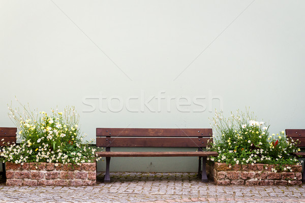Bench by the house Stock photo © Taigi