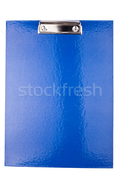 Stock photo: Clip board isolated on white background