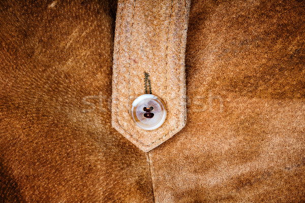 Suede and button  Stock photo © Taigi