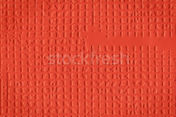 Red embossed paper Stock photo © Taigi