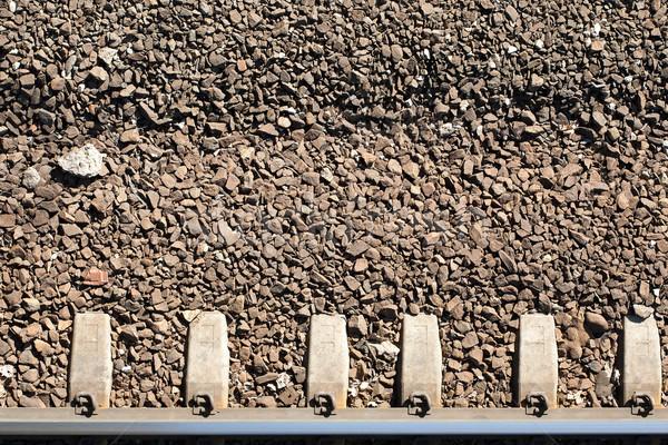 Close up of railway track Stock photo © Taigi