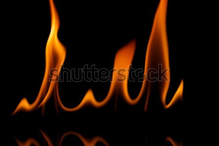 Grainy fire flames  Stock photo © Taigi