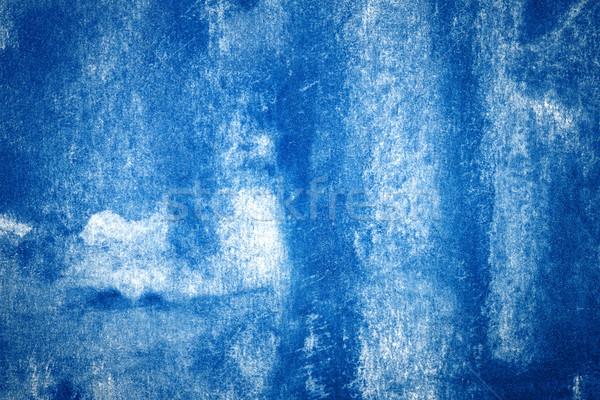 Soyut sanat mavi suluboya su Stok fotoğraf © Taigi