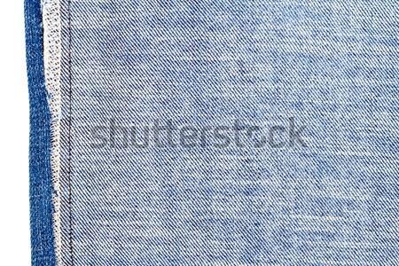 Pezzo tessuto isolato bianco grezzo Foto d'archivio © Taigi