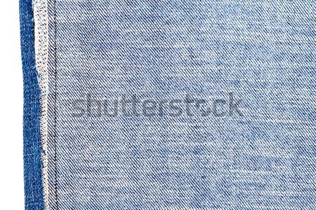 Piece of blue jeans fabric Stock photo © Taigi