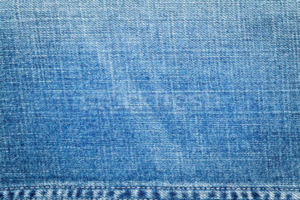 Light Blue Jeans Texture Stock photo © Taigi