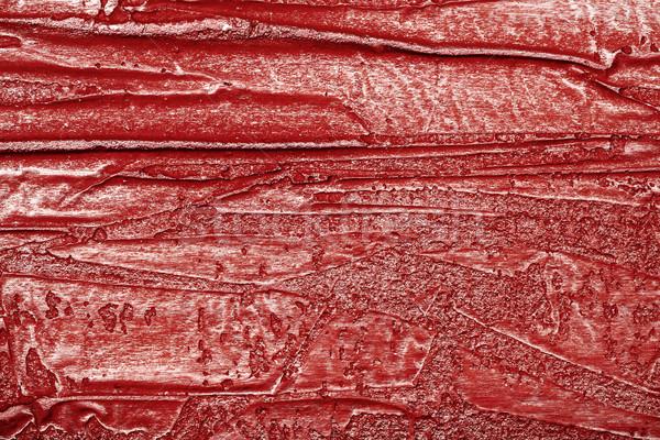 красный стены текстуры штукатурка кожа имитация Сток-фото © Taigi