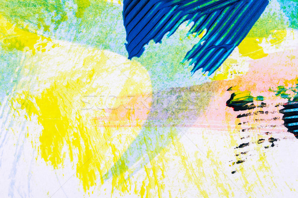 Streszczenie sztuki shot strony malowany Zdjęcia stock © Taigi