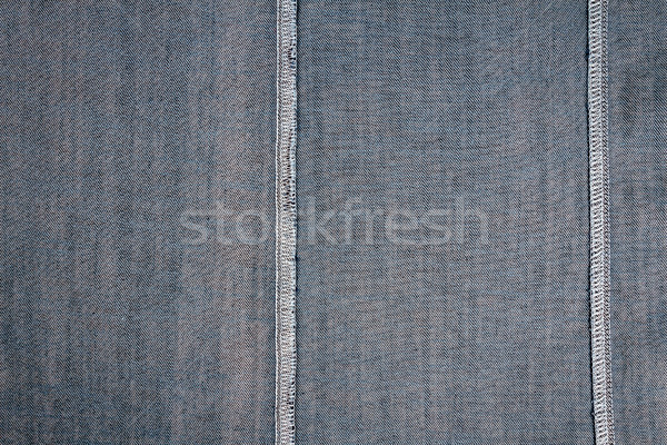 Wrong side of jeans fabric Stock photo © Taigi