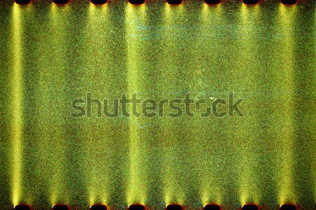 Blank lined noisy film strip texture background Stock photo © Taigi
