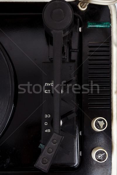 コントロールパネル ヴィンテージ スーツケース ターン クローズアップ ストックフォト © Taigi