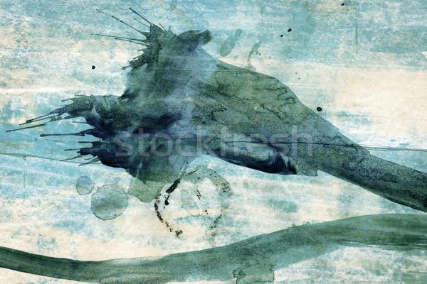 アクリル 芸術 中古 要素 紙 テクスチャ ストックフォト © Taigi