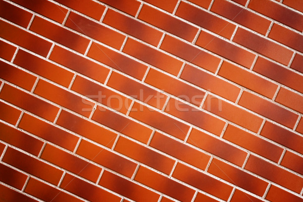 коричневый плитка стены текстуры подробность здании Сток-фото © Taigi
