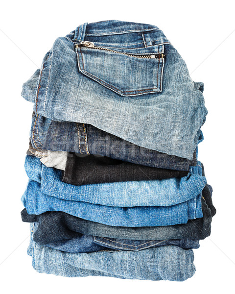 Stack of jeans  Stock photo © Taigi