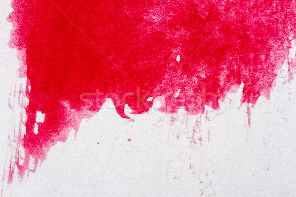 аннотация искусств рисованной красный акварель воды Сток-фото © Taigi