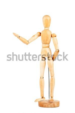Wooden dummy  Stock photo © Taigi
