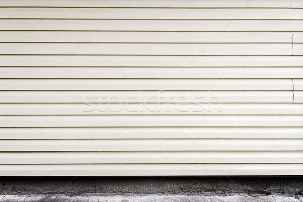 Bianco plastica muro intemperie vecchio Foto d'archivio © Taigi