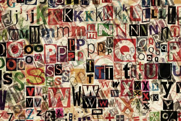 Letters background  Stock photo © Taigi