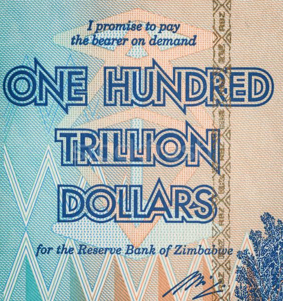 One Hundred Trillion Dollars Stock photo © Taigi