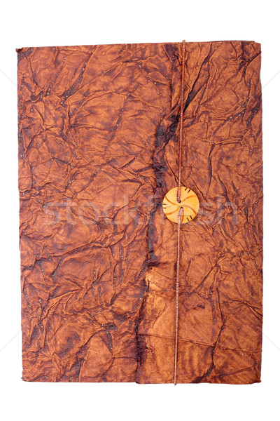 Antique leather book Cover  Stock photo © Taigi