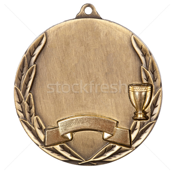Stock photo: Gold Medal