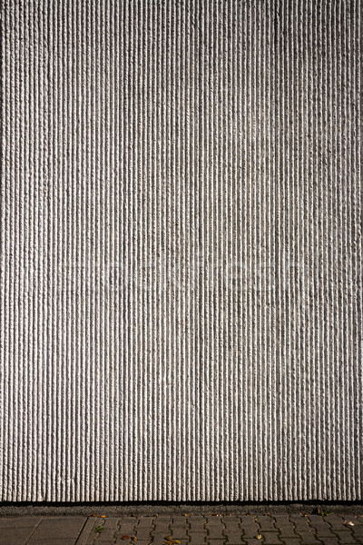 Gray plaster wall Stock photo © Taigi