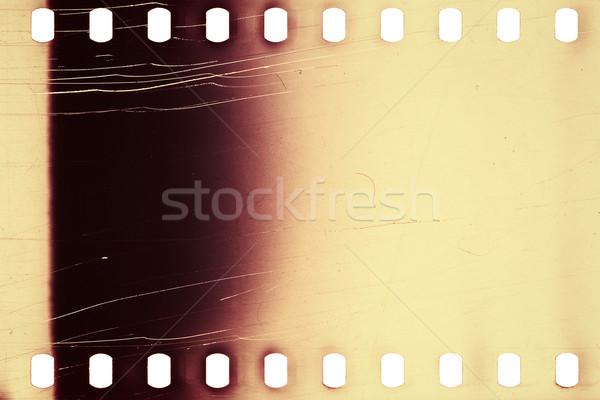 Edad grunge tira de película púrpura vibrante ruidoso Foto stock © Taigi