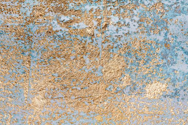 Mur texture blanche or salissant Photo stock © Taigi