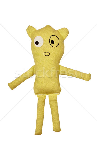 Handmade fabric toy Stock photo © Taigi