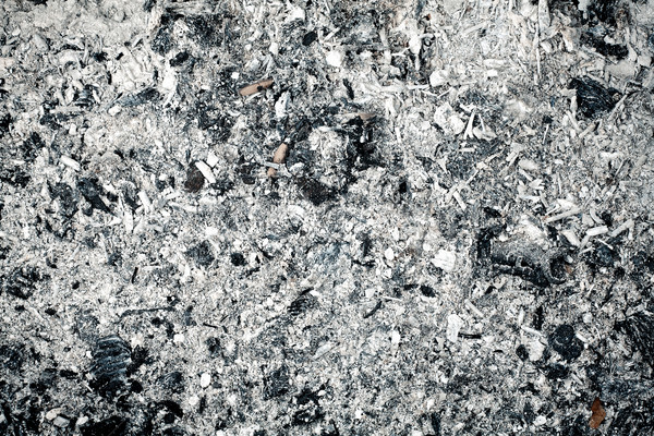 Stock photo: Ashes texture
