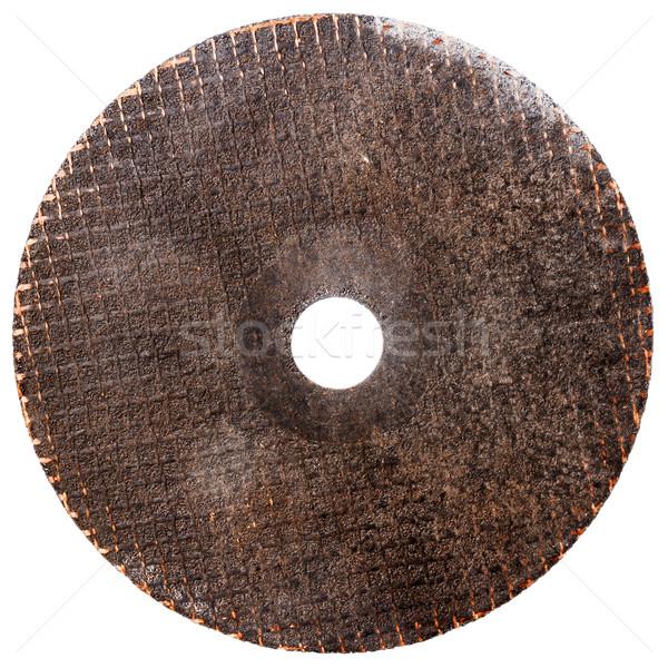 Abrasive disk for metal cutting Stock photo © Taigi