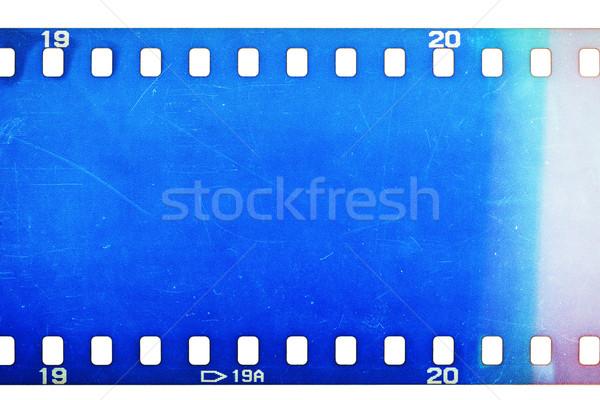 Vecchio grunge filmstrip film strip texture Foto d'archivio © Taigi