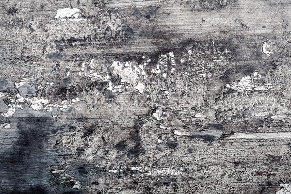 Muur textuur zwarte grijs witte Stockfoto © Taigi