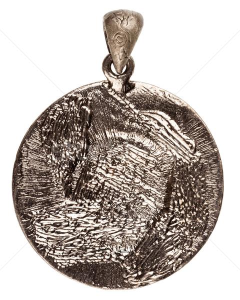 Reverse side of silver pendant Stock photo © Taigi