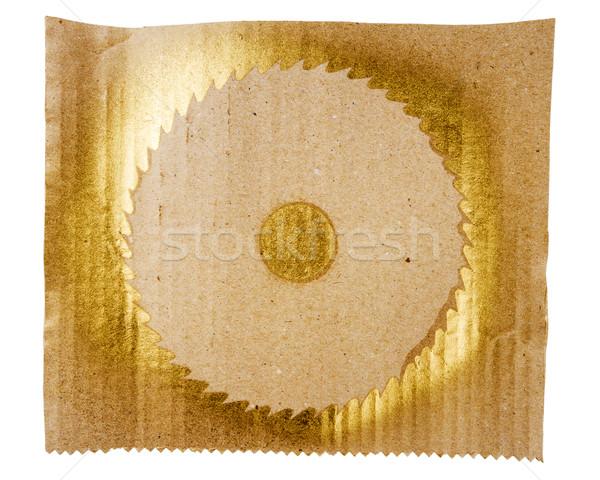 Foto stock: Resumen · dorado · arte · mano · pintado · oro
