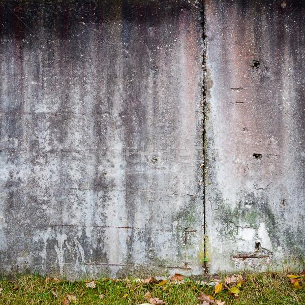 Gips muur verweerde gebarsten huis Stockfoto © Taigi