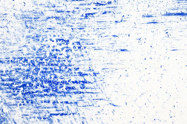 аннотация искусств рисованной синий белый акриловый Сток-фото © Taigi