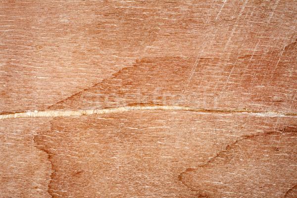 Pęknięty sklejka tekstury shot drzewo Zdjęcia stock © Taigi