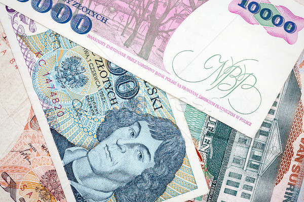 Old Polish banknotes Stock photo © Taigi