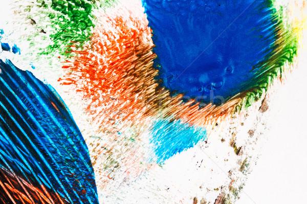Abstract vibrant acrylic art background Stock photo © Taigi