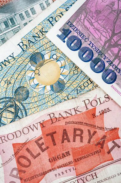 Vecchio non valida soldi modello segno Foto d'archivio © Taigi