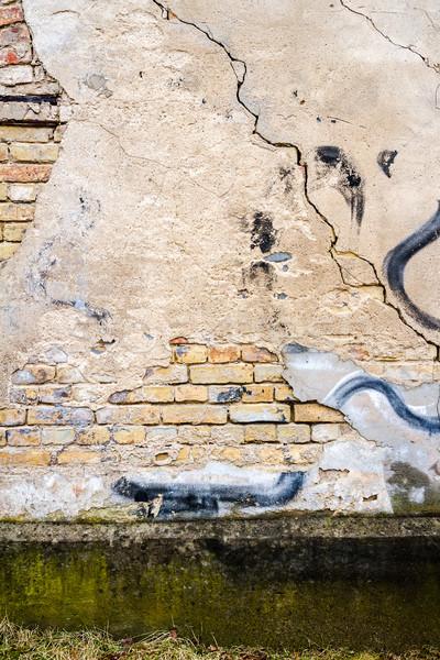 старые улице стены выветрившийся землю архитектура Сток-фото © Taigi