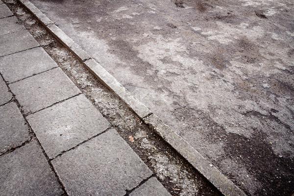 Concrete paving and asphalt textures Stock photo © Taigi