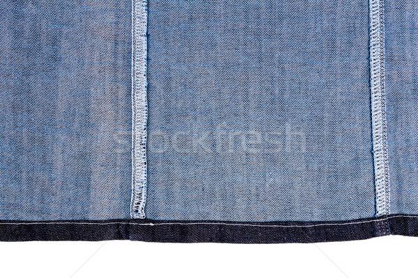 кусок ткань изолированный белый грубо Сток-фото © Taigi