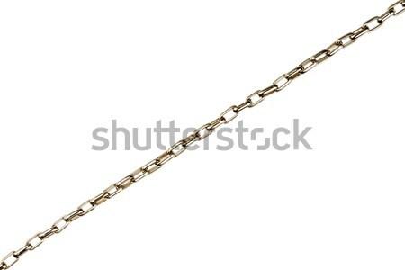 Silver chain detail   Stock photo © Taigi