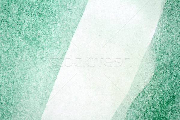 зеленый акварель аннотация стороны окрашенный текстуры Сток-фото © Taigi